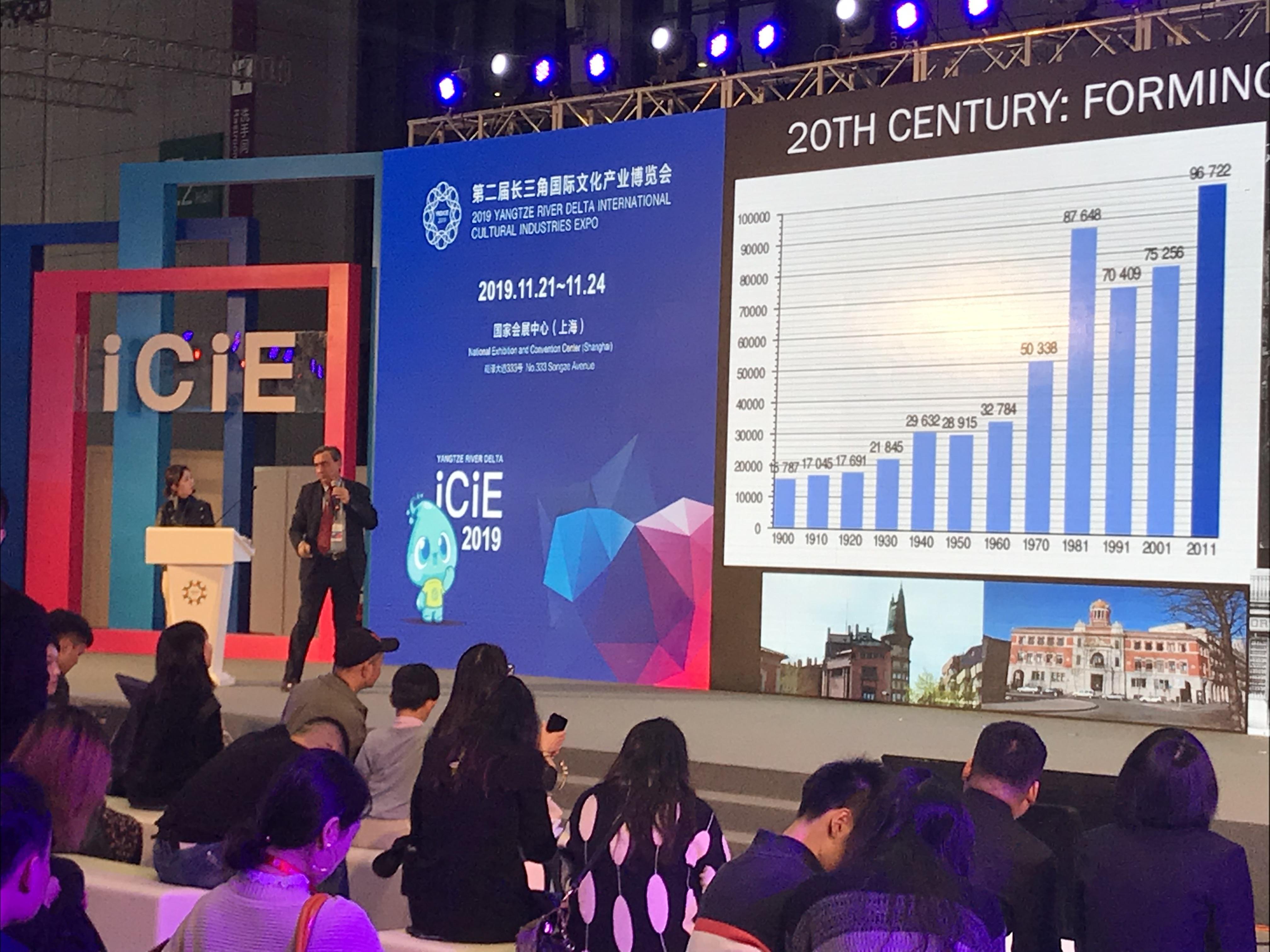 Conferència d'Antoni Bou, director general de Bou Associats, a Xangai
